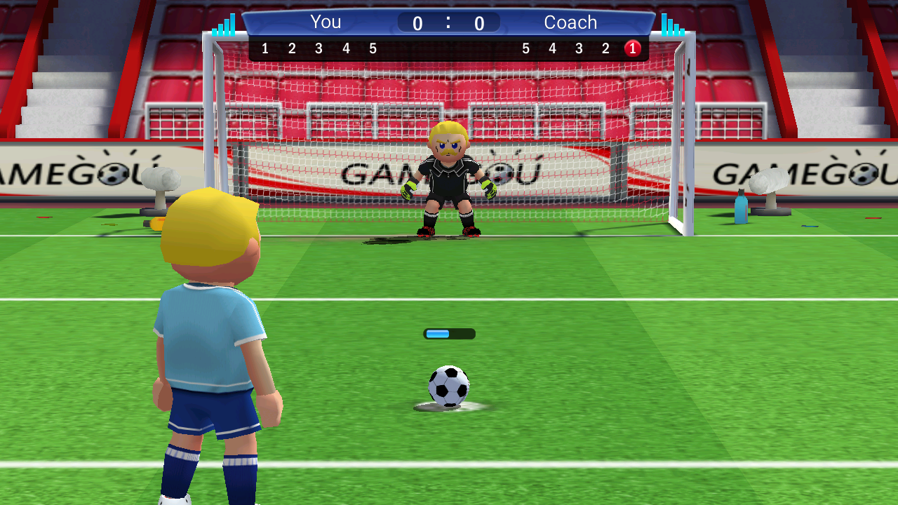 Perfect Kick soccer game app