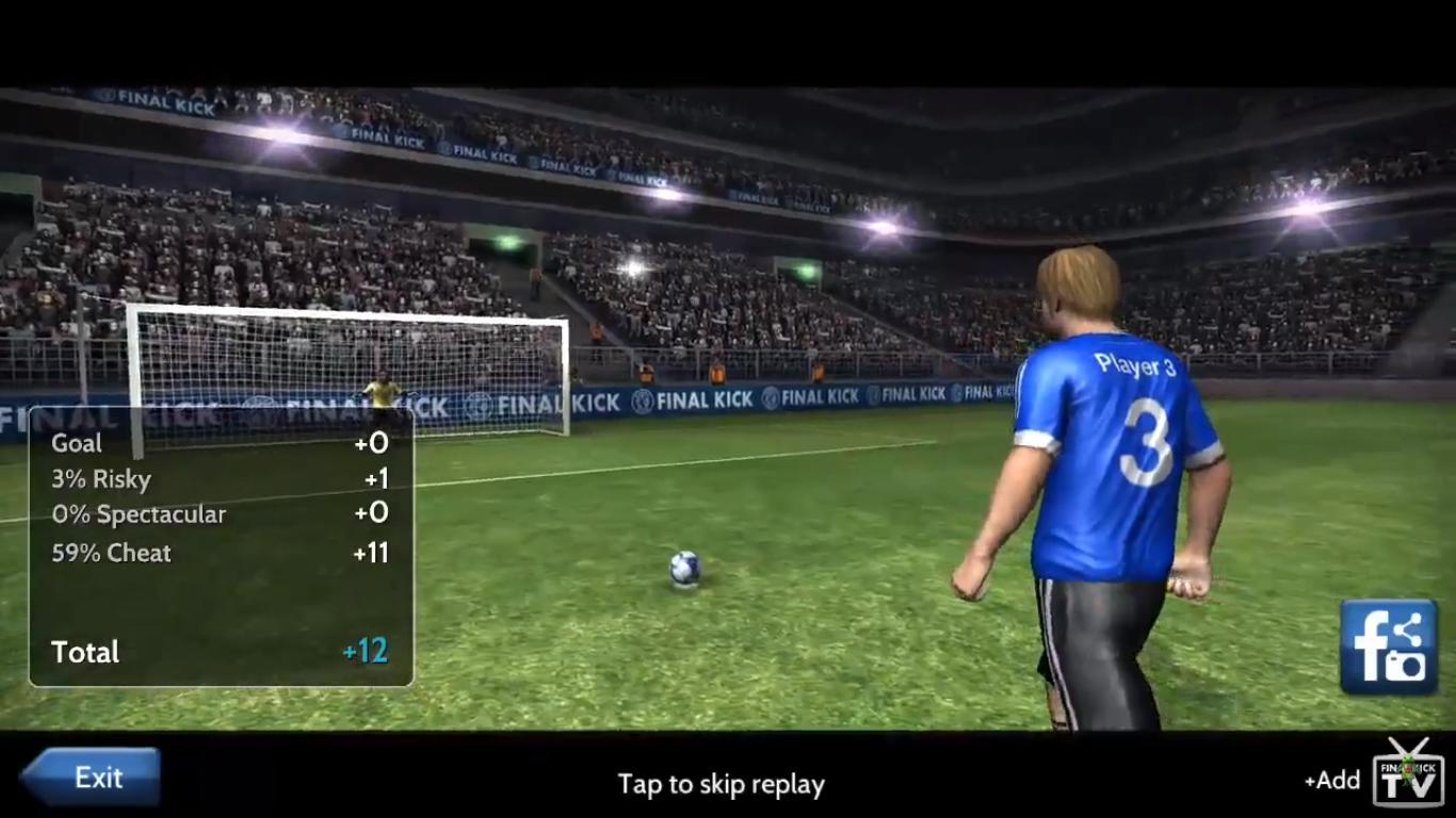 Final Kick football app