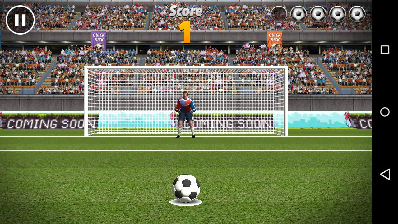 Quick Kick Brazil soccer app
