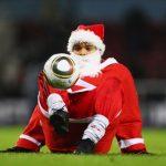xmas santa soccer games mobile