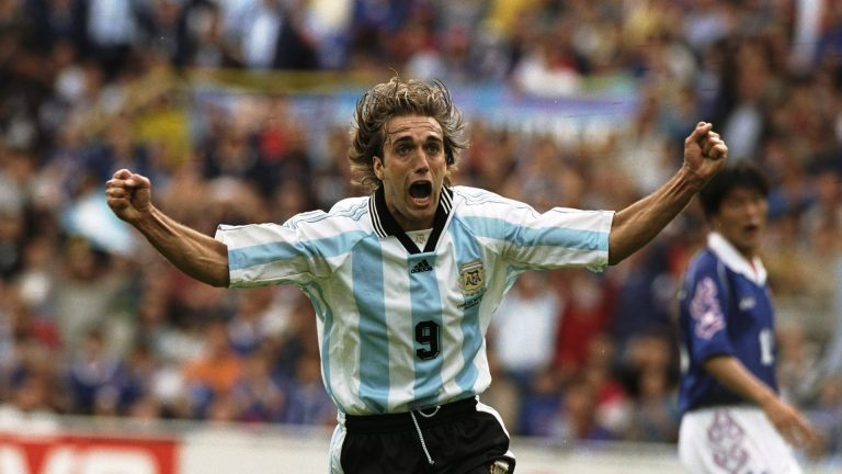 Soccer Legend Gabriel Batistuta