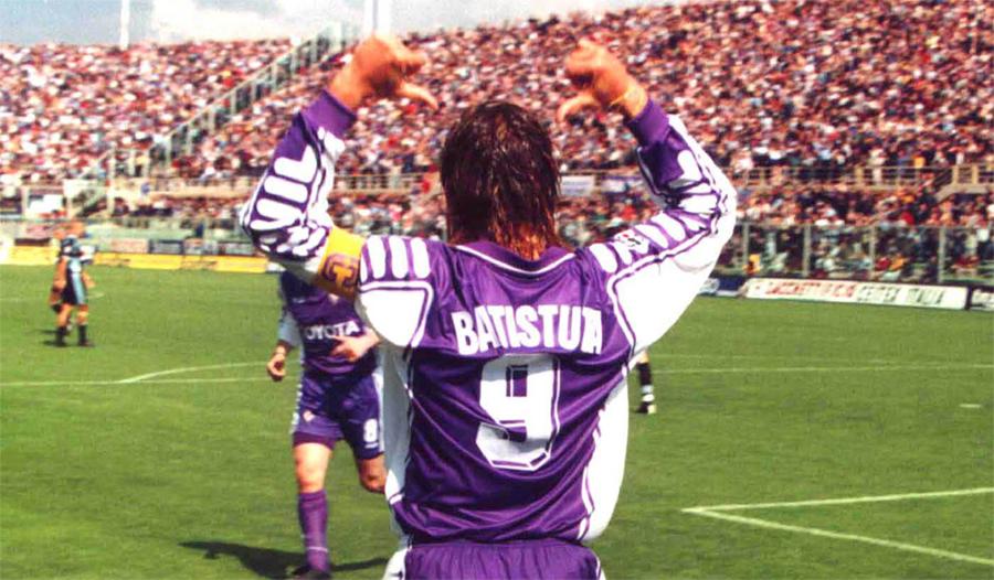 Soccer Legend Gabriel Batistuta Fiorentina
