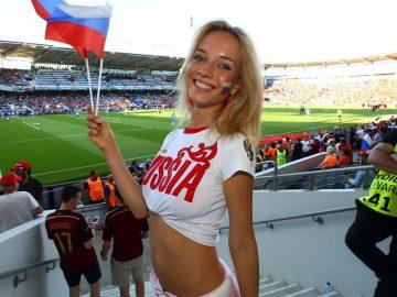 russian football fan girls fifa 2018 world cup