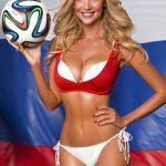 soccer babe Victoria Lopyreva 2018 FIFA World Cup