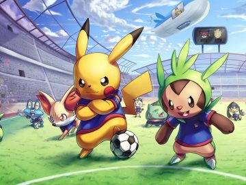 pokemon soccer football game