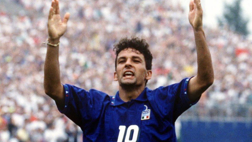 Roberto Baggio Italy - Soccer Legends