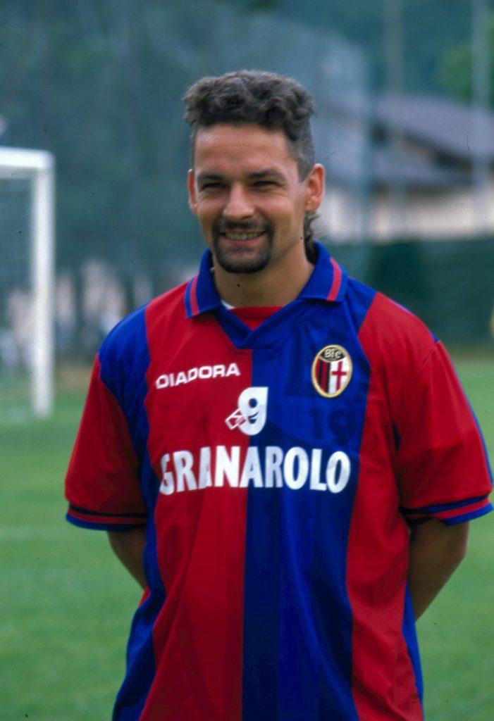 Soccer Legends Roberto Baggio Bologna