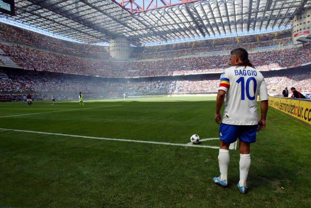 Soccer Legends Roberto Baggio Brescia