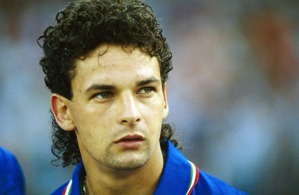 Soccer Legends Roberto Baggio Italy