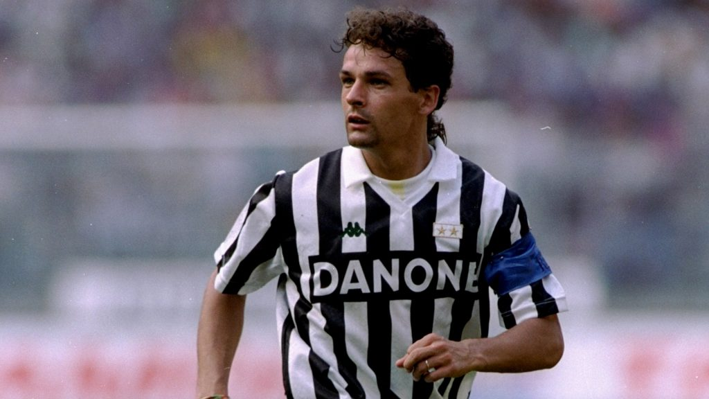 Soccer Legends Roberto Baggio Juventus