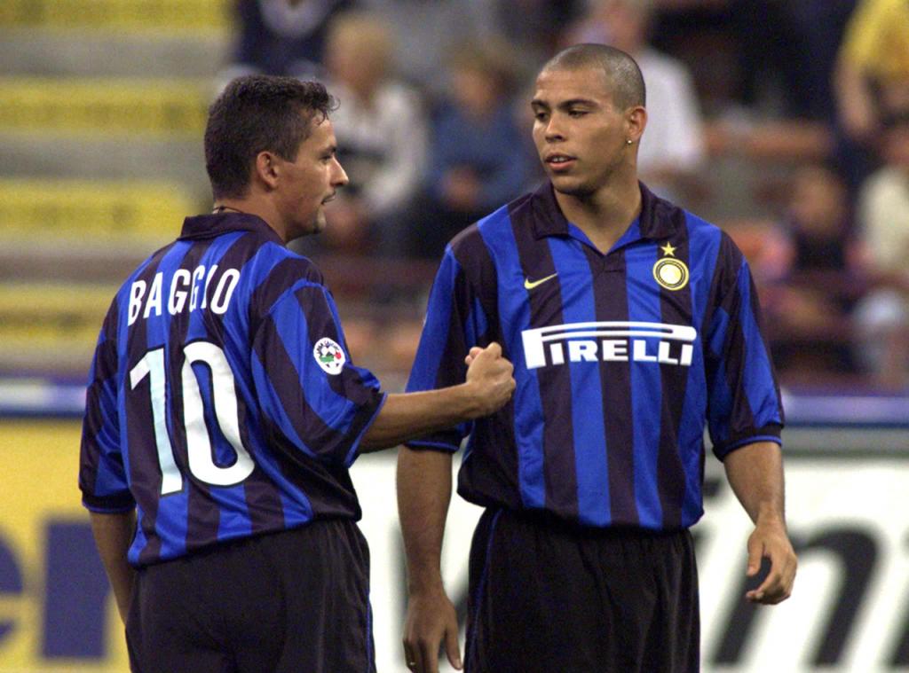 Soccer Legends Roberto Baggio Inter