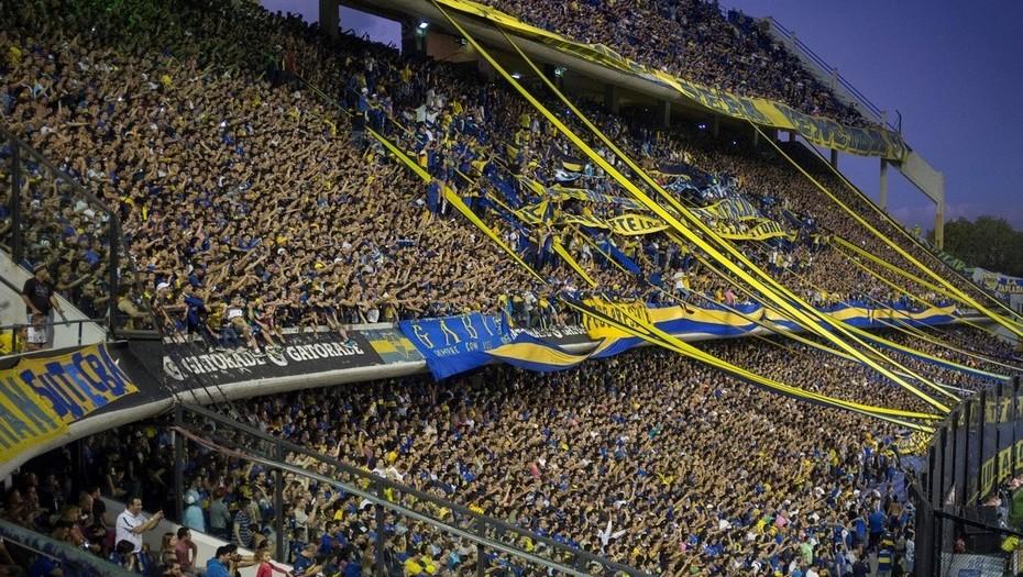 soccer stadium la bombonera boca fans