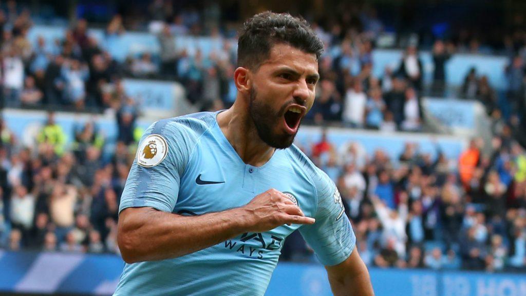 Soccer Legends Sergio Aguero Manchester City