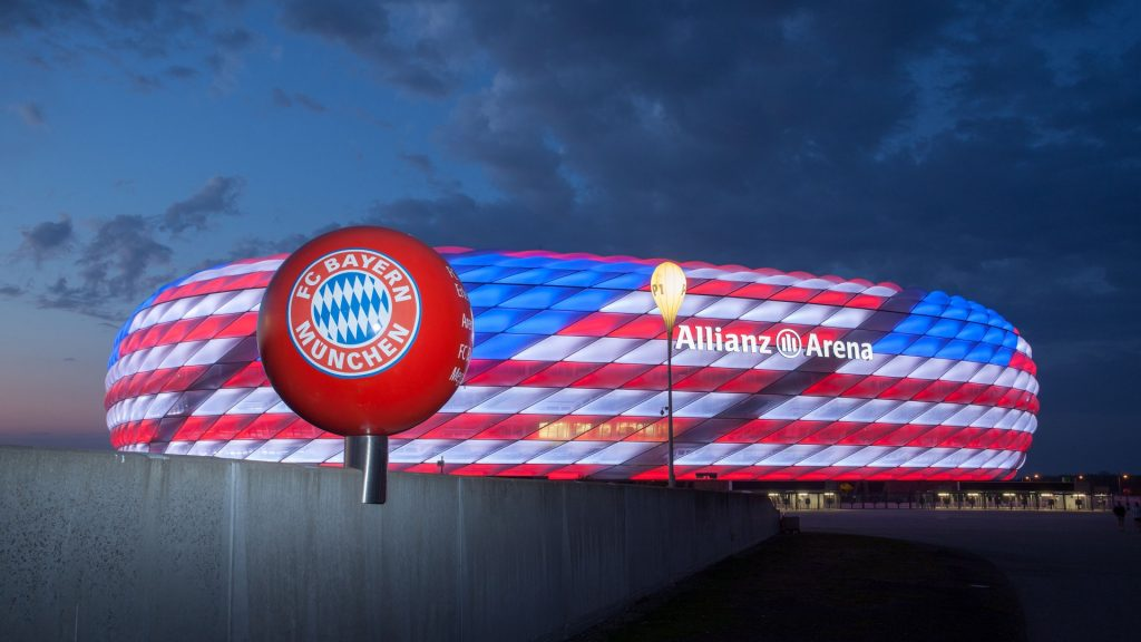 Soccer Stadiums Allianz Arena Bayern