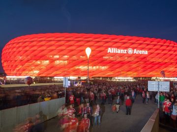 Soccer Stadiums Allianz Arena