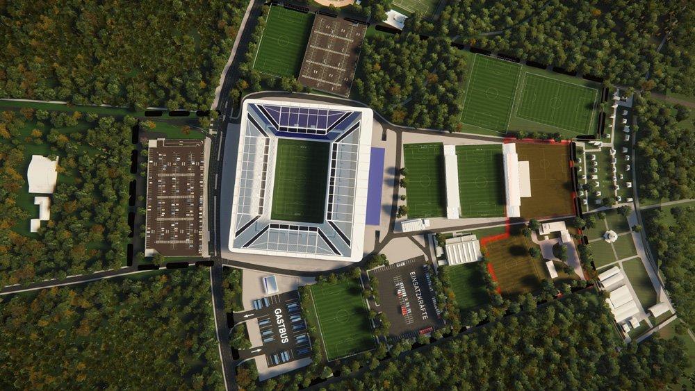 Soccer Stadiums Karlsruhe 2022