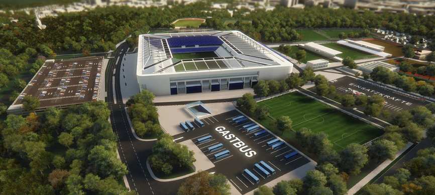 Soccer Stadiums Karlsruher New