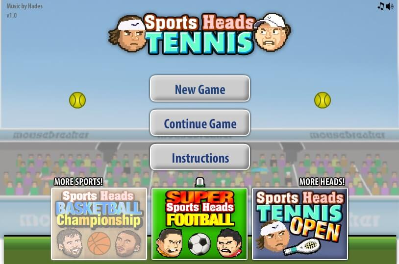 Sports Heads Tennis Championship