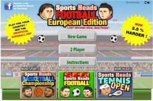 Sports Heads Soccer Europe