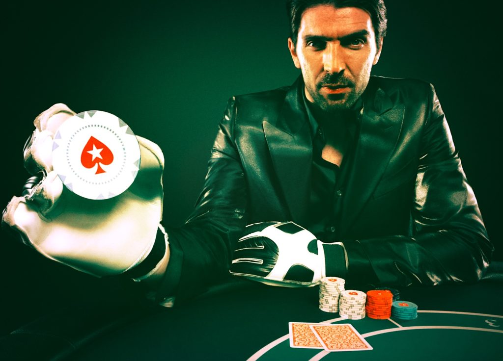 buffon Italian casino poker sponsorship