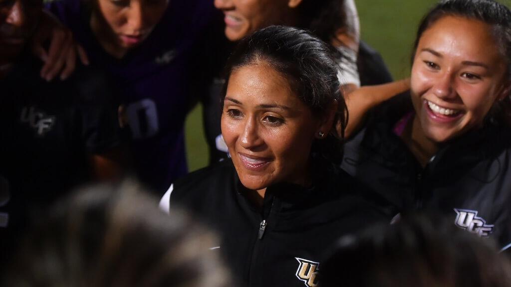 UCF coach Tiffany Roberts Sahaydak