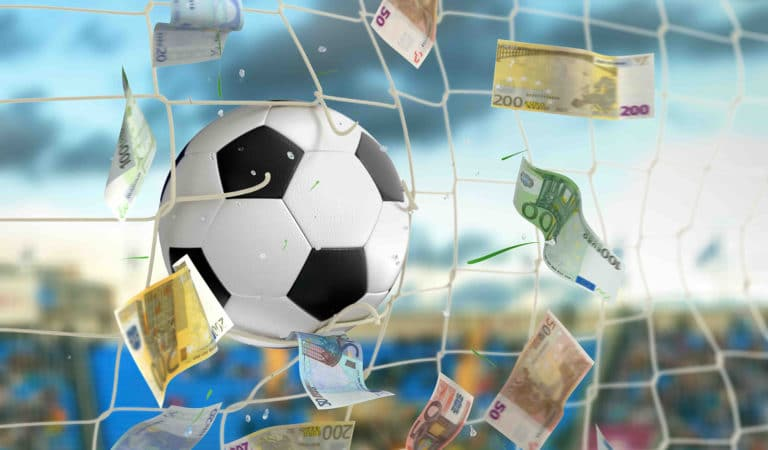 Soccer stars like to win big and that's why some play poker